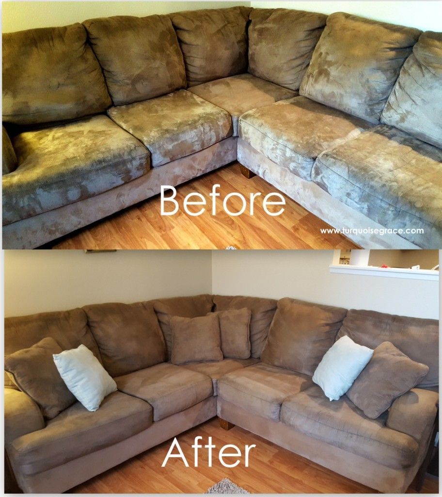 How to Clean a Microfiber couch.