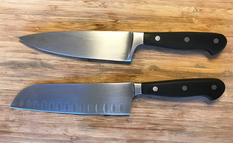 Santoku vs. Chef's Knife (Differences, Similarities, Pros, Cons)